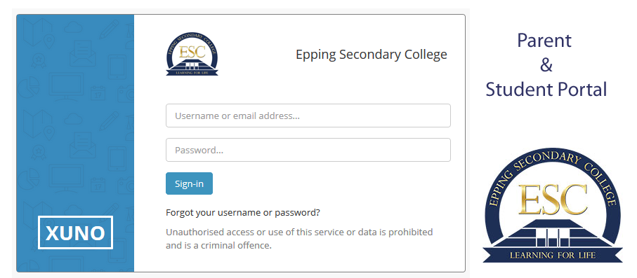 Parent and Student Portal - Introduction booklet | Eppingsc